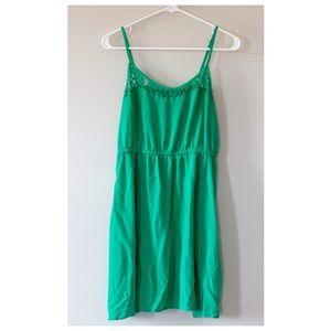 H&M Short Kelly Green Dress - 12